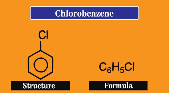 Chlorobenzene formula and structure