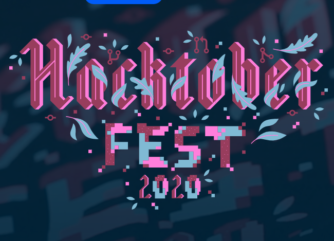 Photo of the Hacktoberfest logo.