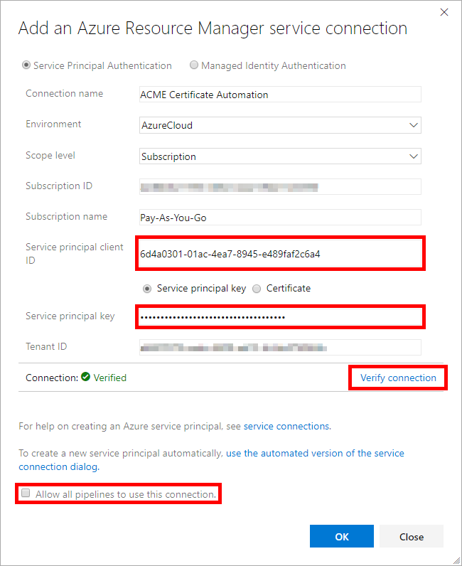 Automating certificate management with Azure and Let's Encrypt