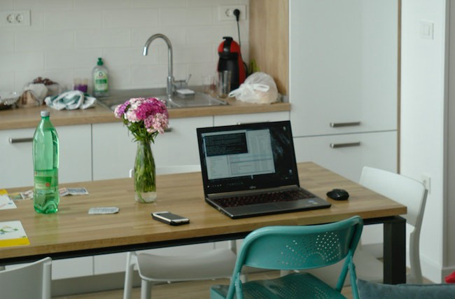 home office for your side hustle for your career change