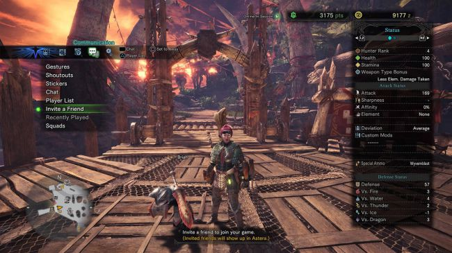 Can T Join Squad Session Mhw