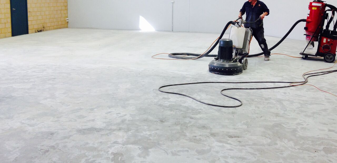 How Do I Clean My Concrete Floor After Grinding