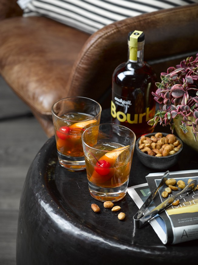 Image of bourbon Old Fashioned by Cocktail Collective