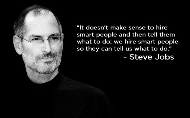 Quote from Steve Jobs