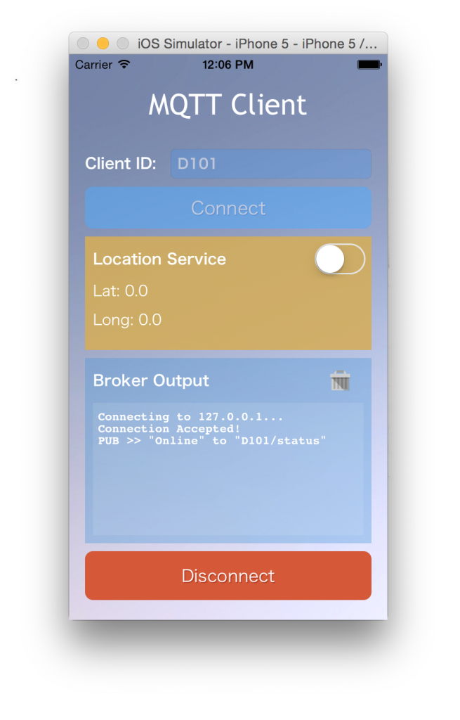 Geolocating your iPhone through the Internet of Things and MQTT
