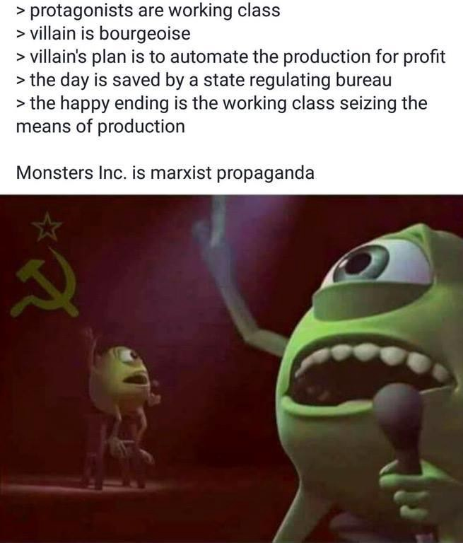 On Artistic Criticism From Monsters Inc Memes To Marxism By James Bell Medium