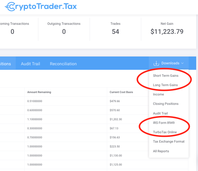 Importing Your CryptoTrader Tax Report Into TurboTax Online