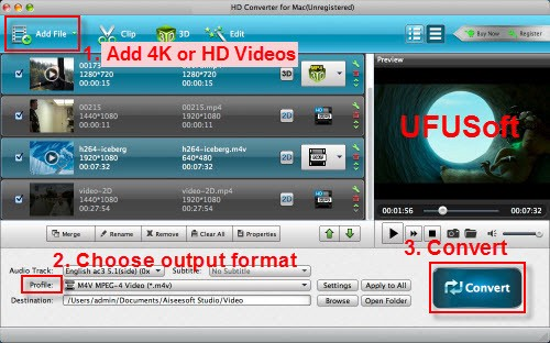 Import H 265/HEVC to DNxHD for Avid Media Composer - blu-raysolution