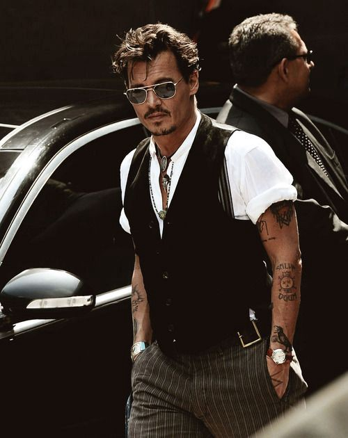 Styling for Men  How to dress like Johnny Depp , Instant