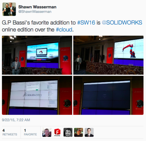 Powering SOLIDWORKS from the cloud - Speaking of the Cloud…