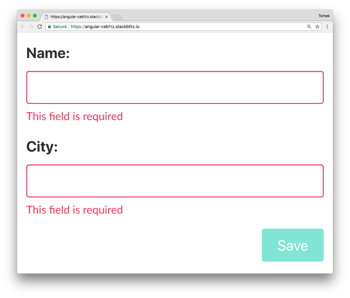 Angular techniques: Improve submit button's UX by NOT disabling it