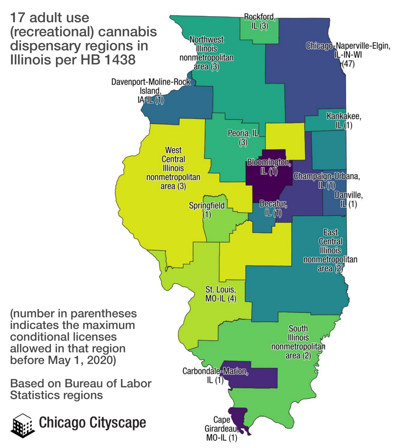 Legalizing recreational : There's a map for that on