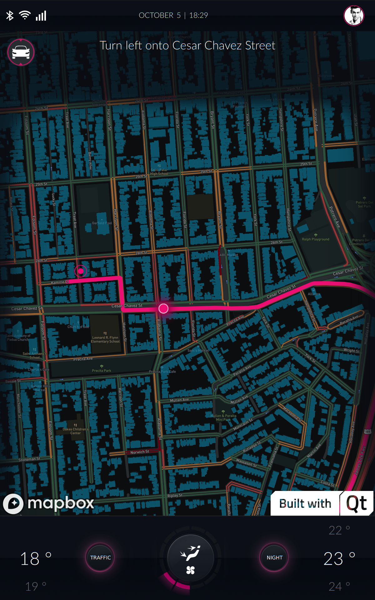 Plug our maps into your Qt applications - Points of interest