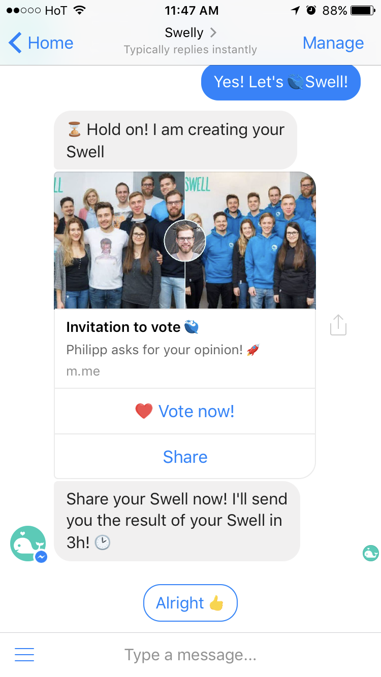 Facebook Messenger: How we used the referral link to increase our