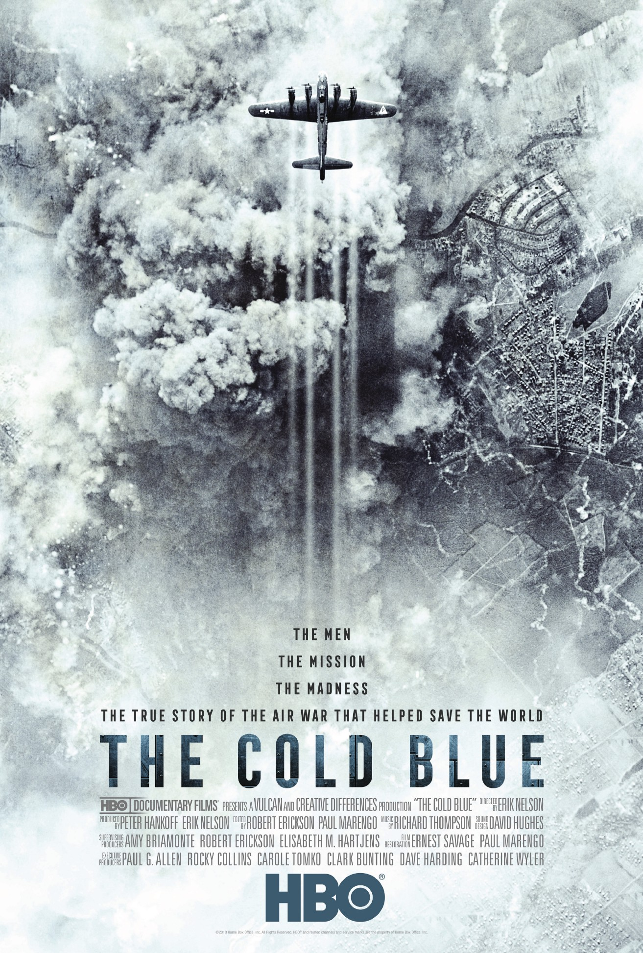 Innovative World War II Documentary THE COLD BLUE, from Director