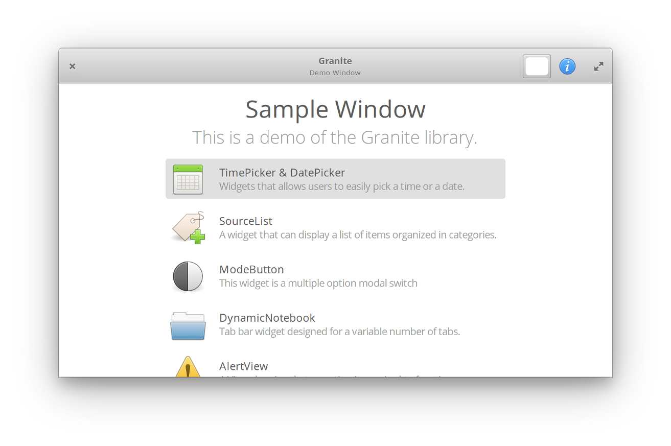 Granite 0 5 Is Here! - elementary - Medium