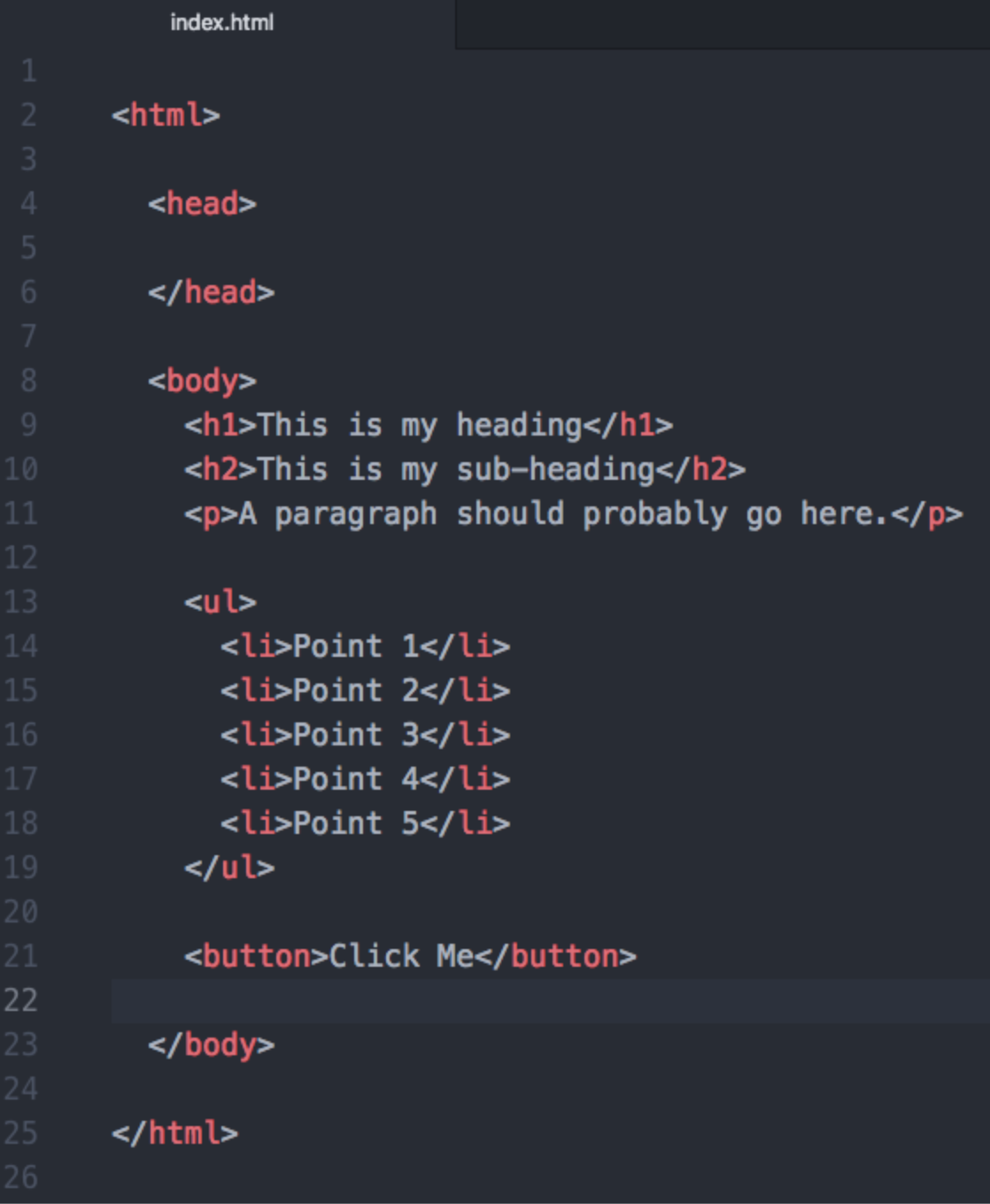 A Brief History of HTML 1-4