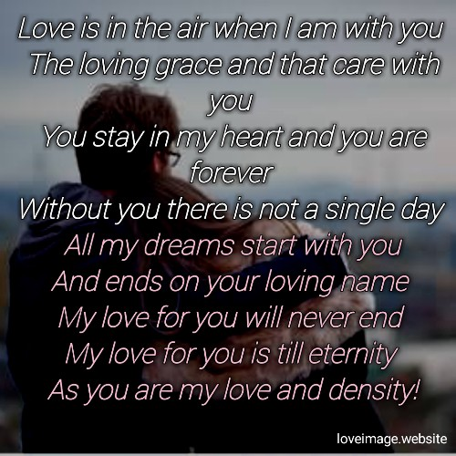Love poem forever my The Love