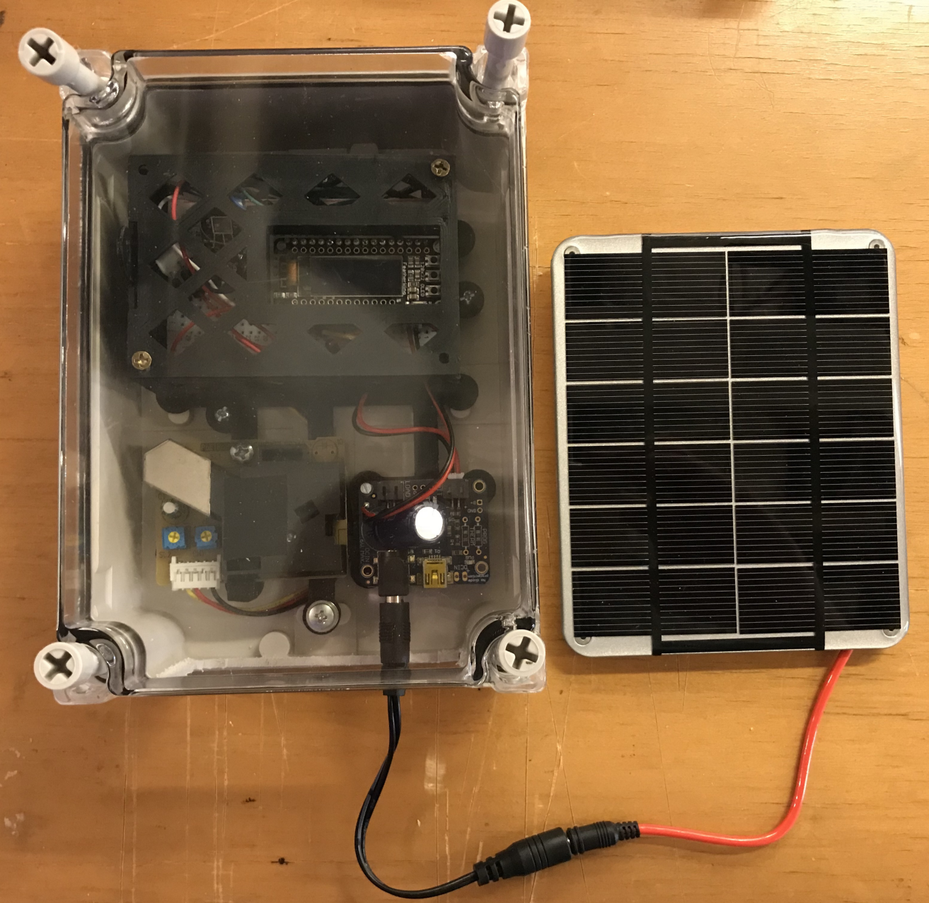 Building low-cost air pollution monitors at Georgetown University