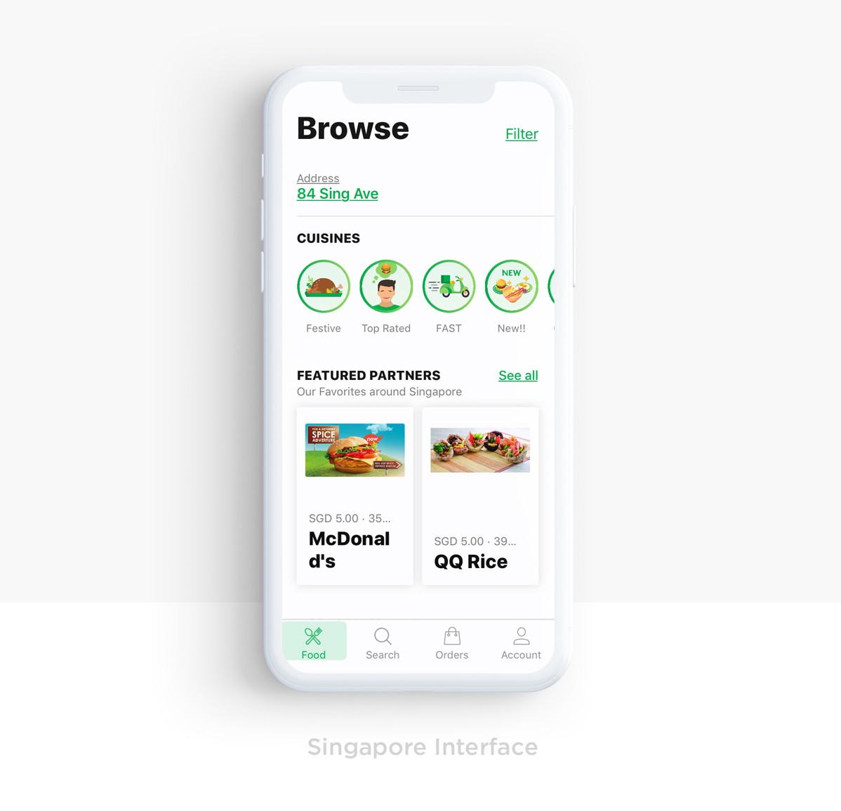 Redesigning a food delivery app for GrabFood— a UX case study