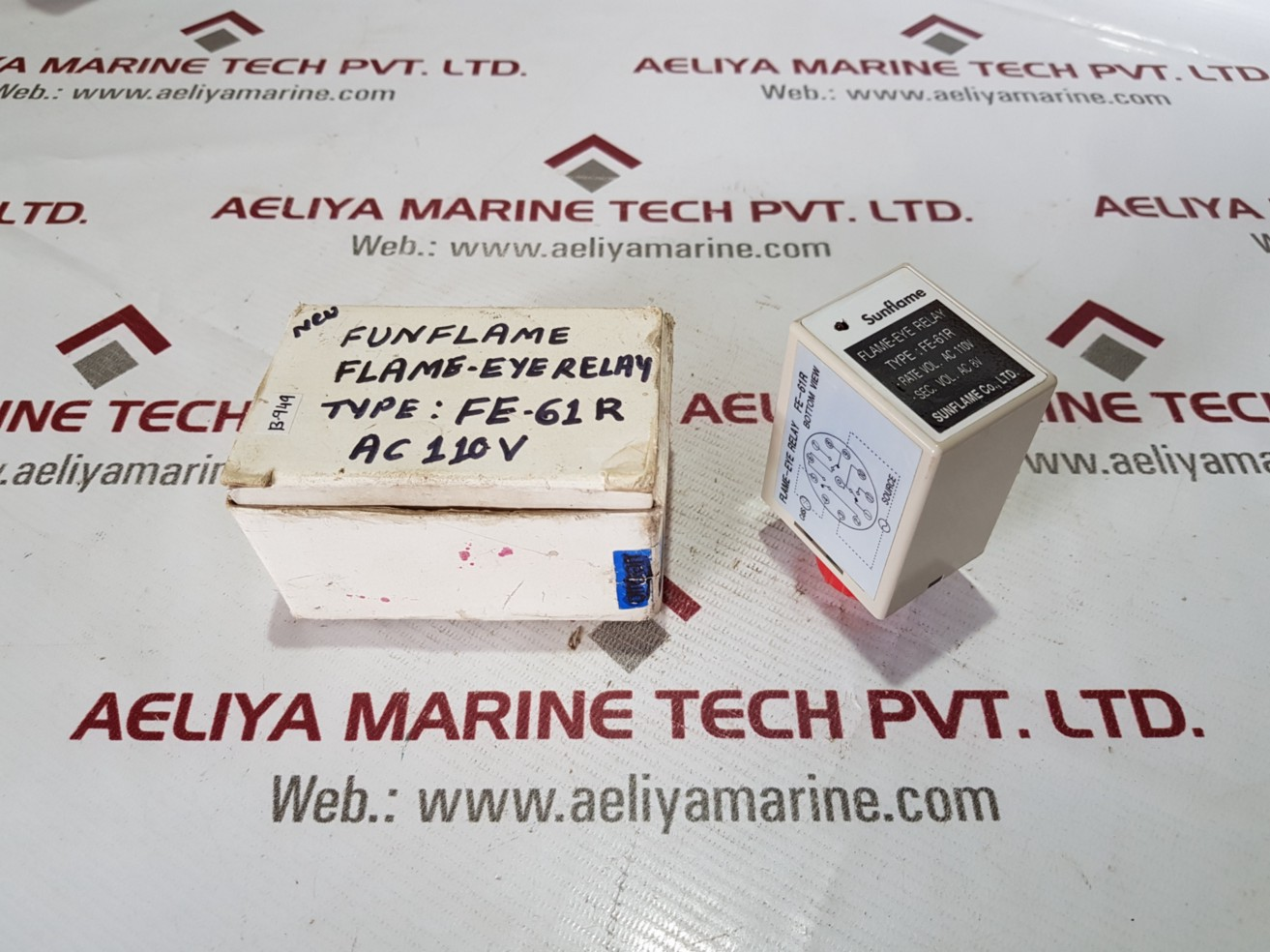 SUNFLAME FE-61R FLAME-EYE RELAY - Aeliya Marine Tech Pvt Ltd - Medium