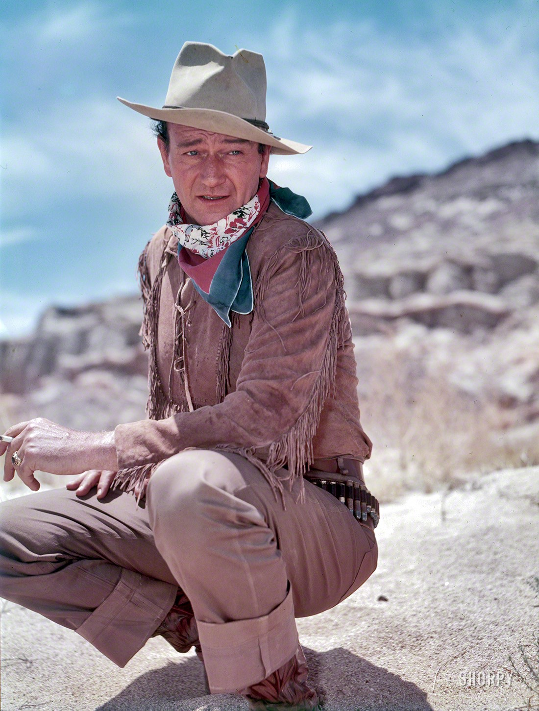 dde1ce9b He was ugly, strong, and had dignity — Uncovering John Wayne's hidden  treasure