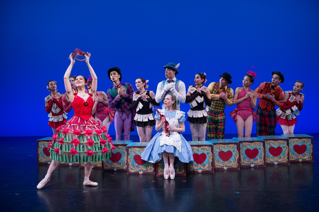 Delightful Dance Fusion in Keith Michael's The Alice-in-Wonderland