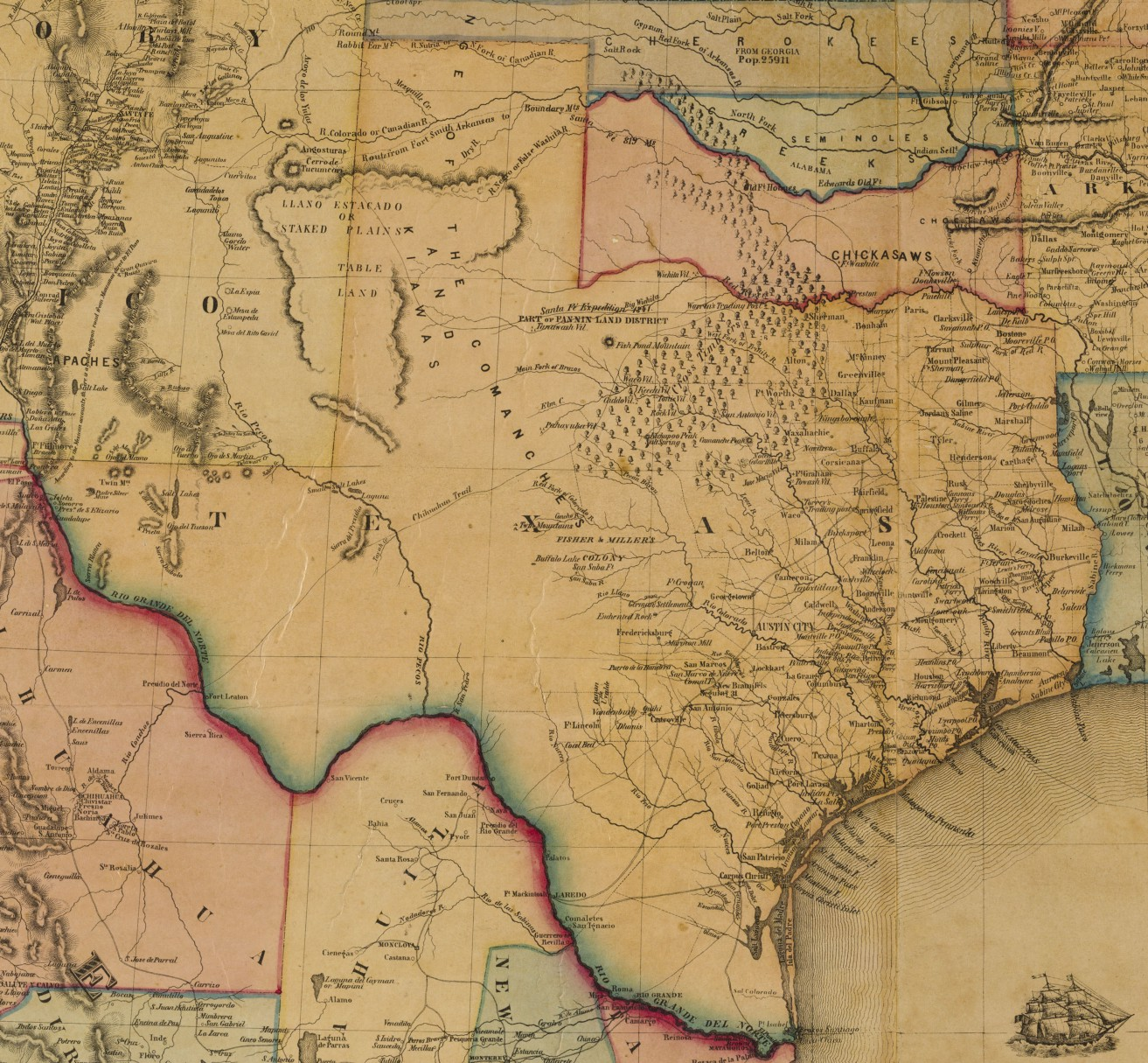 Map Of Texas Please.One Man S Junk Is The Glo S Treasure Conserving A Donated Map