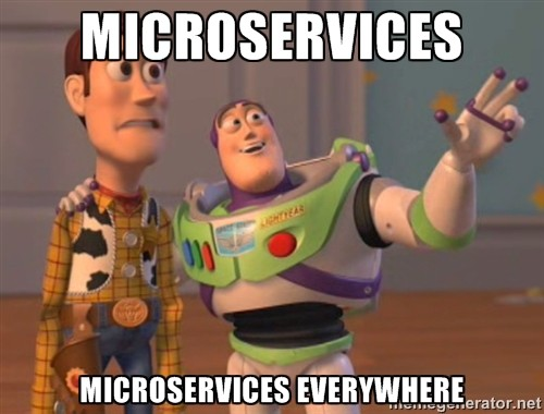 independent scaling microservices