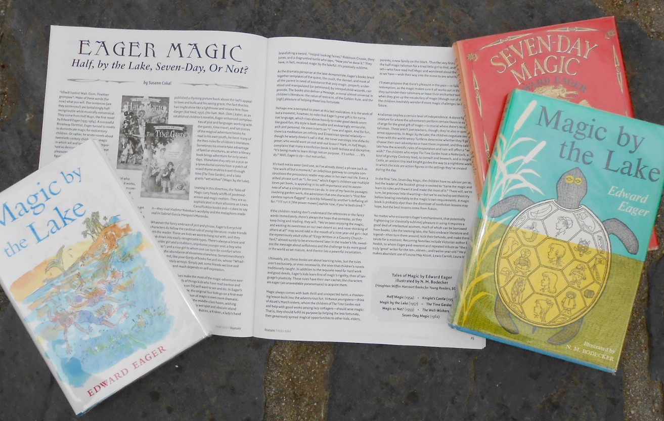Edward Eager's Magic Tales: Half, by the Lake, Seven-Day, Or Not?