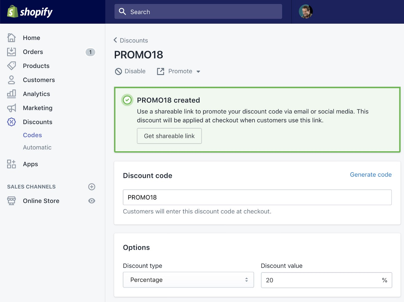 Display Shopify Discount Codes on Storefront Pages - Markus Tripp
