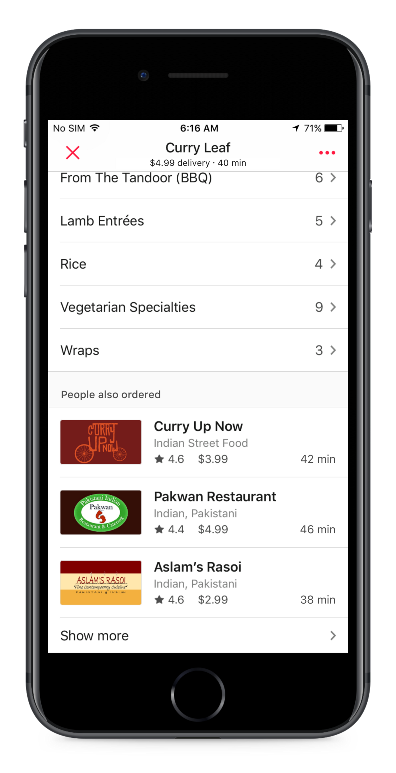 New features to better find, track, and rate your deliveries