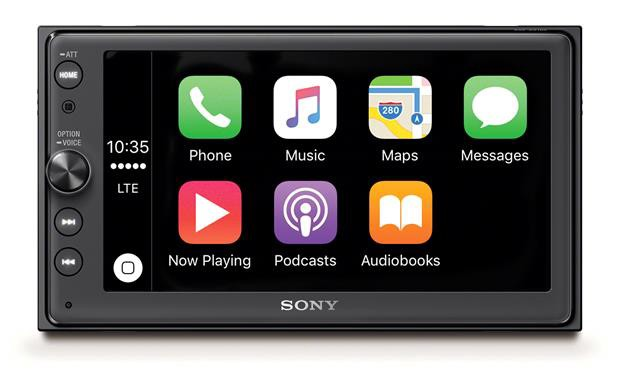 Sony announces XAV-AX200 audio receiver with Apple CarPlay & Android