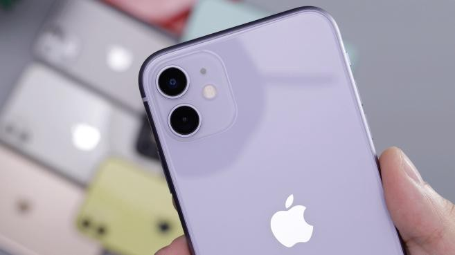 Image of a Purple iPhone