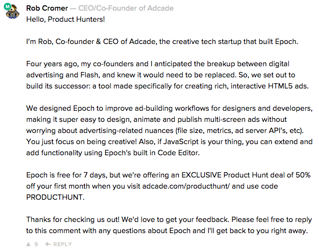 What we learned from our Product Hunt launch - Adcade - Medium