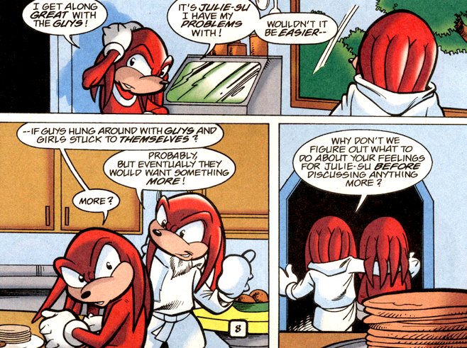 I read every Sonic comic by Ken Penders, and they're wilder