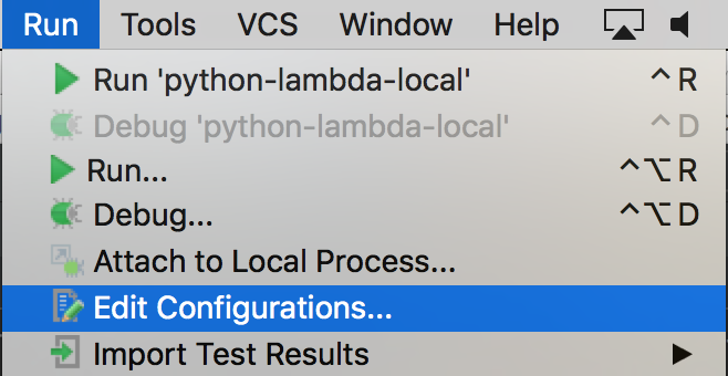 How to test a Python AWS Lambda function locally with