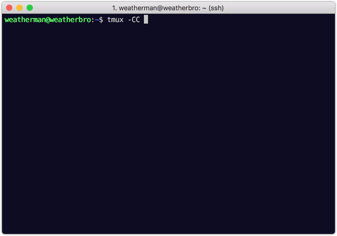 Using iTerm2's built-in integration with tmux - Dave Smith