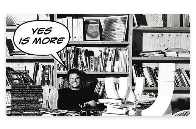"""Yes is More"" Graphic Novel by Bjarke Ingels"
