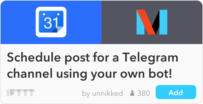 How to manage your Telegram channel with your unique bot