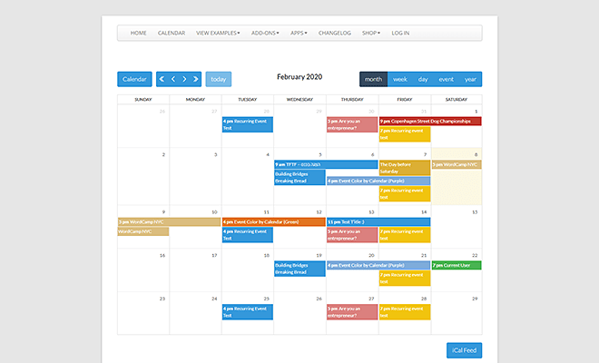 Calendarize It! | Best WordPress Event Calendar Plugin