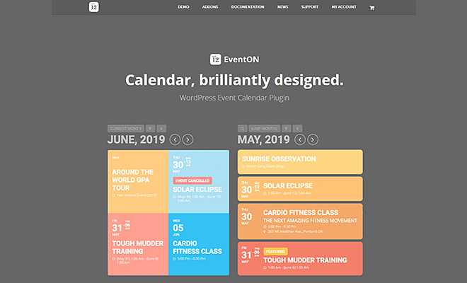 EventOn | Best WordPress Event Calendar Plugin