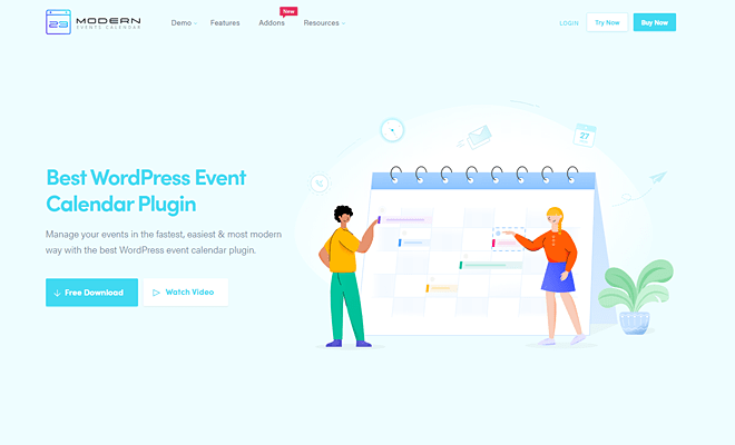 Modern Events Calendar | Best WordPress Event Calendar Plugin