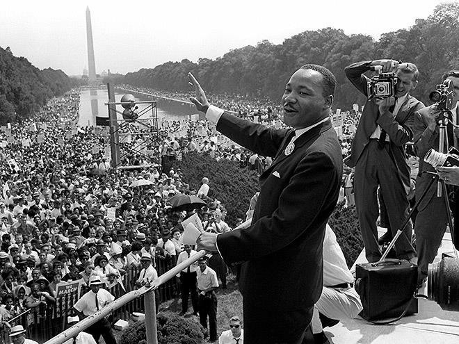 Martin Luther King Jr on the National Mall