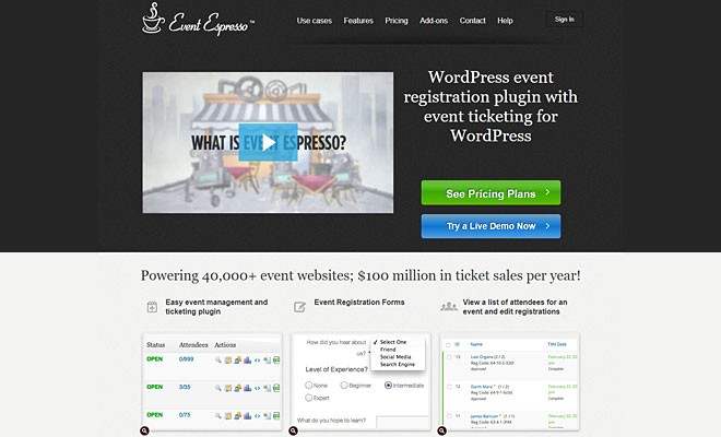 Event Espresso | Best WordPress Event Calendar Plugin