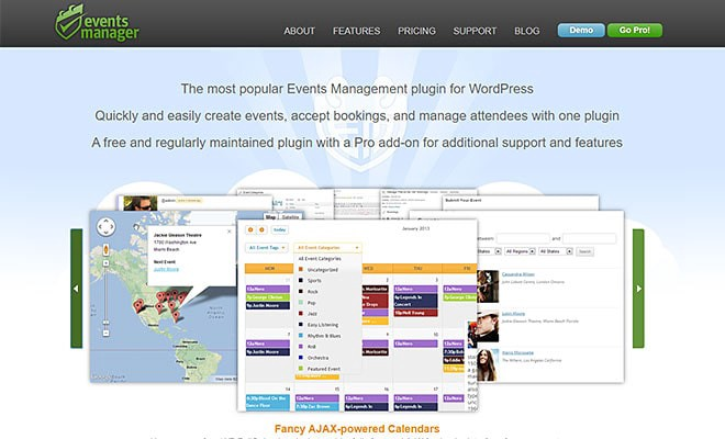 Events Manager | Best WordPress Event Calendar Plugin