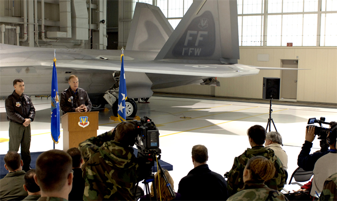 Happy Birthday to the F-22 Raptor: - Tyson Wetzel - Medium