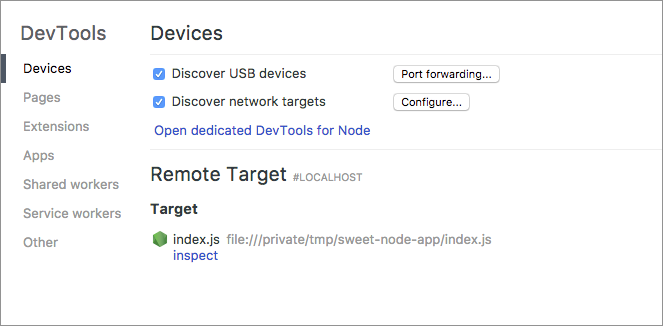 Debugging Node js with Chrome DevTools - Paul Irish - Medium