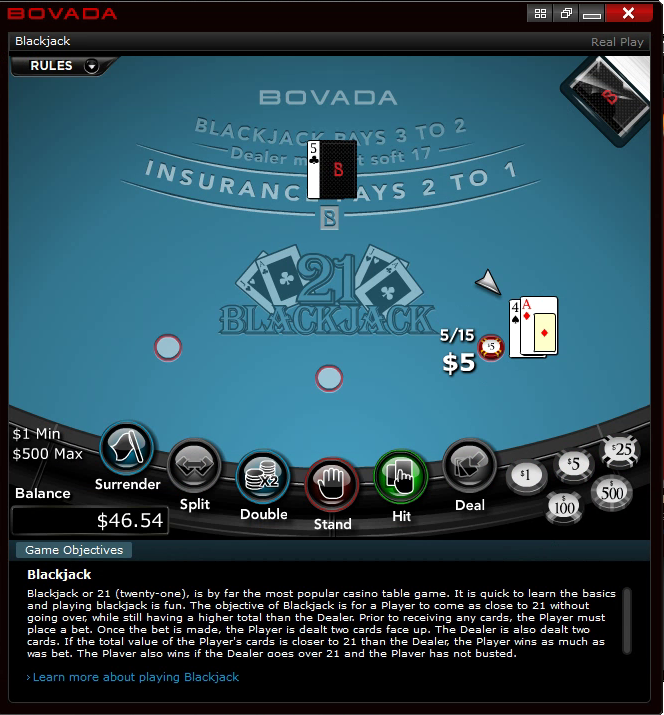 Exploiting a blackjack edge on the largest online casino