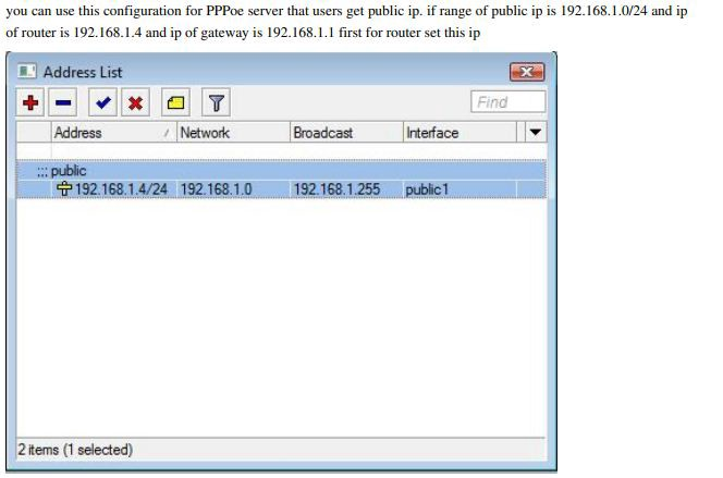 PPPoE Server Configuration in MikroTik Router - anna lungeli